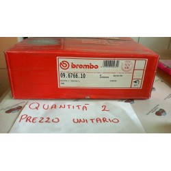 BREMBO  09 6766 10 DISCO FRENO