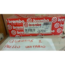 BREMBO  09 6769 10 DISCO FRENO