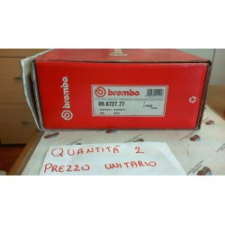 BREMBO  09 6727 77 DISCO FRENO