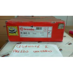 BREMBO  09 6843 11 DISCO FRENO